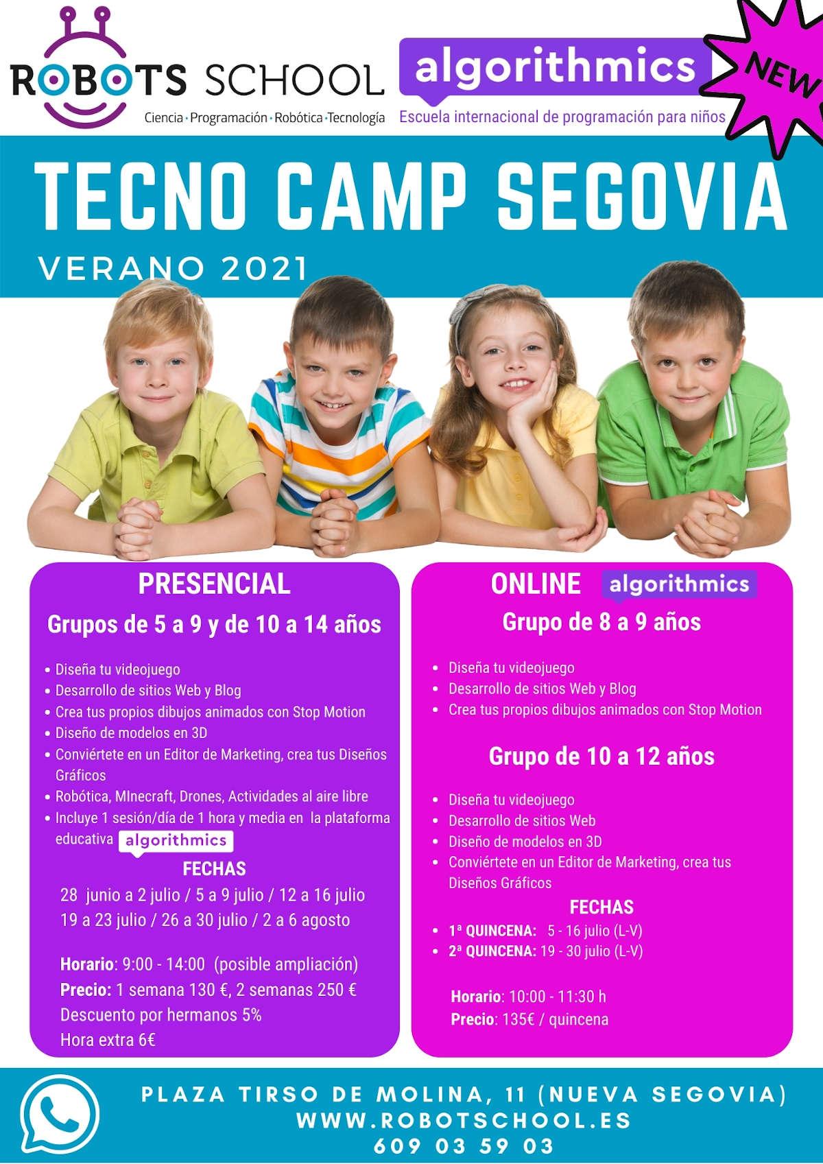 Cartel_campamento_verano_Algorithmics_2021